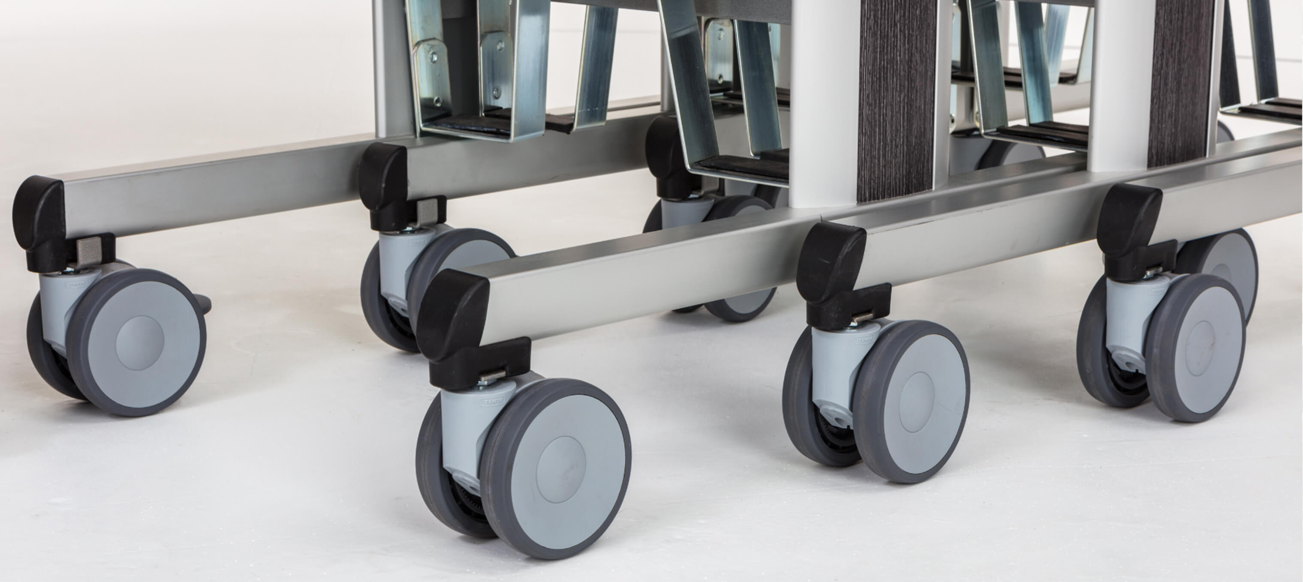 Room Service Trolley Zoom of Wheels