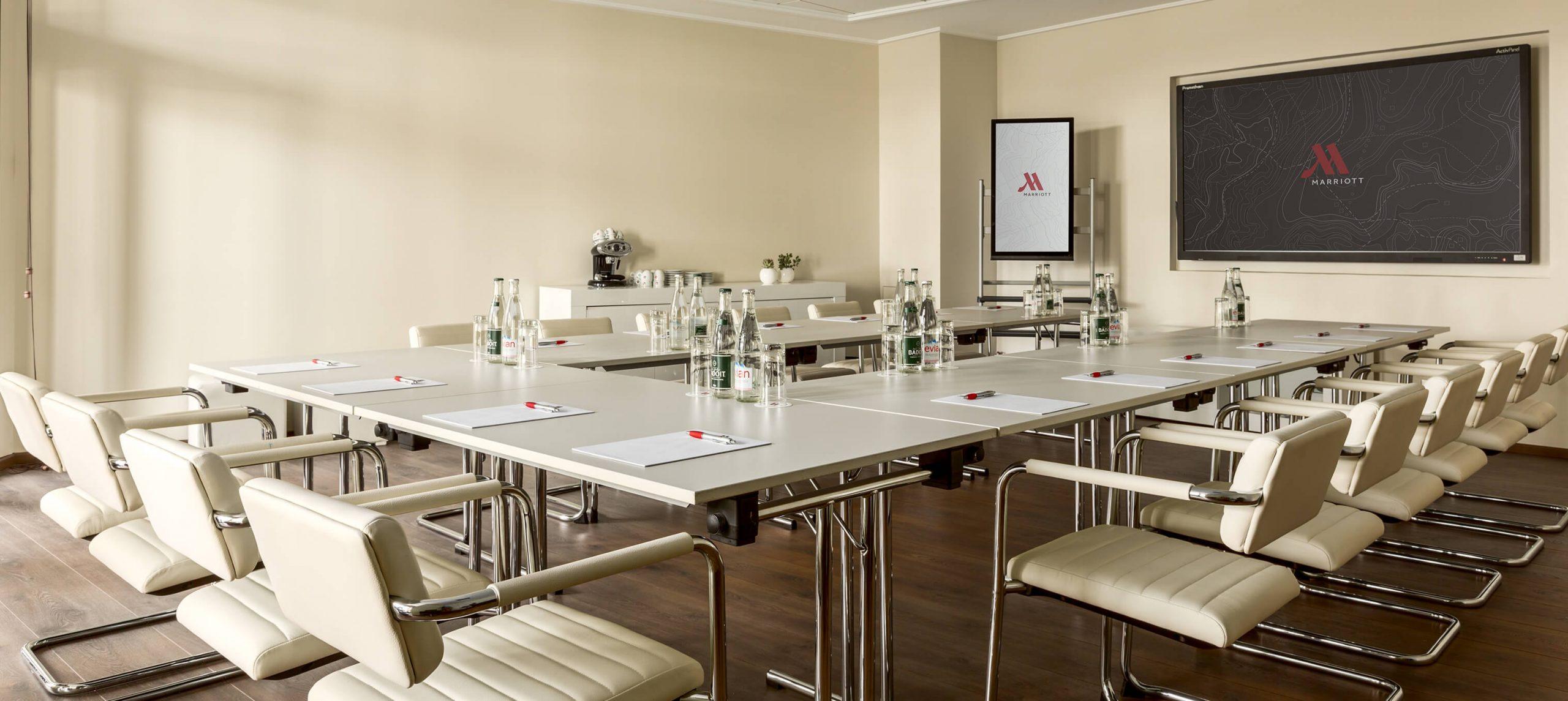Tiani System C Marriott Hotel La Porte de Monaco conference room high tech 3036x1358