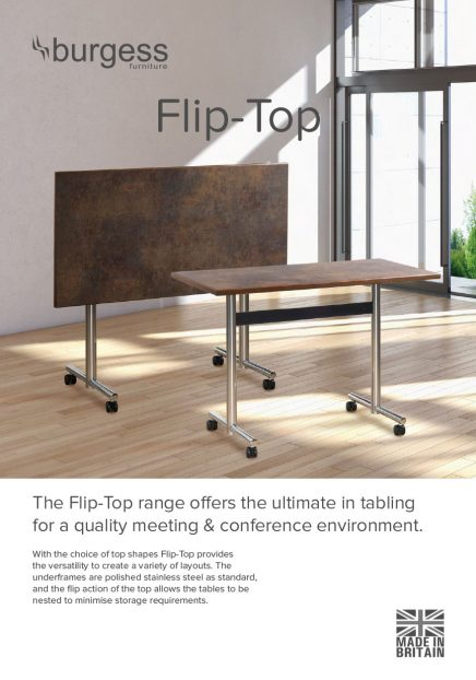 DIGITAL Flip Top Table Brochure